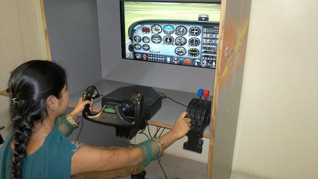 Simulator Flying -2 Avel Flight School