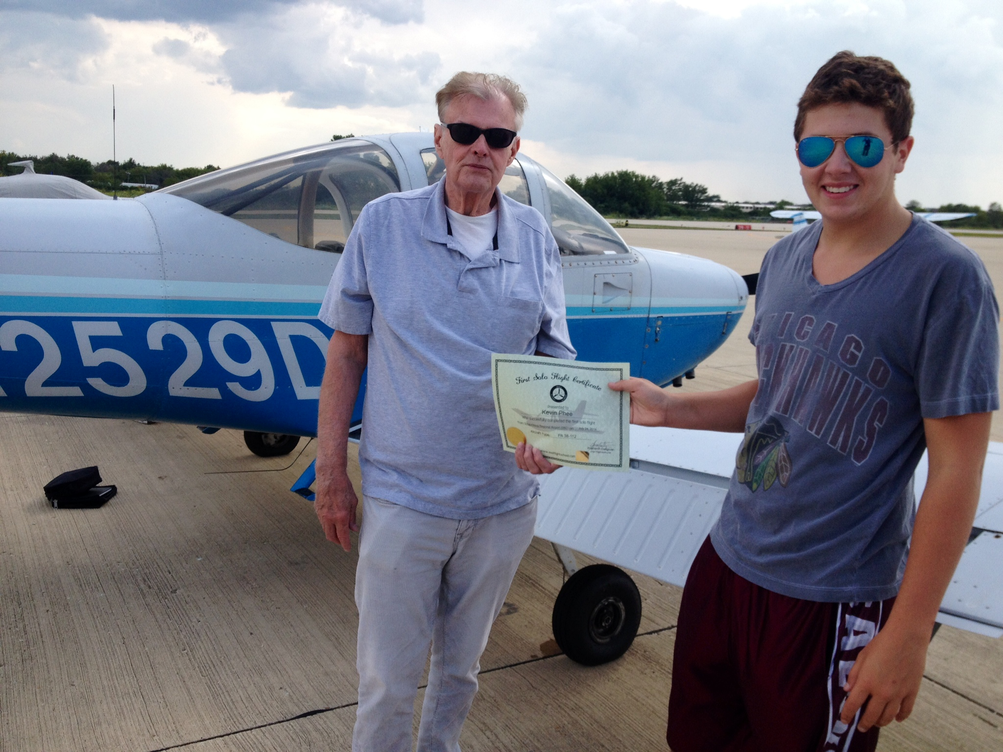Kevin Phee First Solo-1