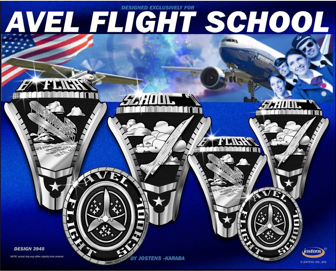 Avel Flight School Graduation Ring-1
